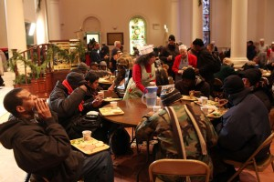 NYC Soup Kitchen Christmas