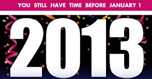 resolutions 2013