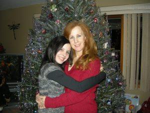 V & Mom Xmas