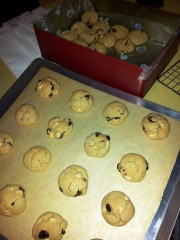 White chocolate Cranberry cookies1