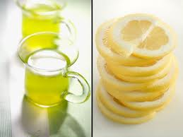 green tea_lemon