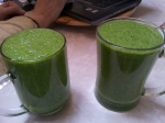 Detox Cleanse Lunch Smoothie blended